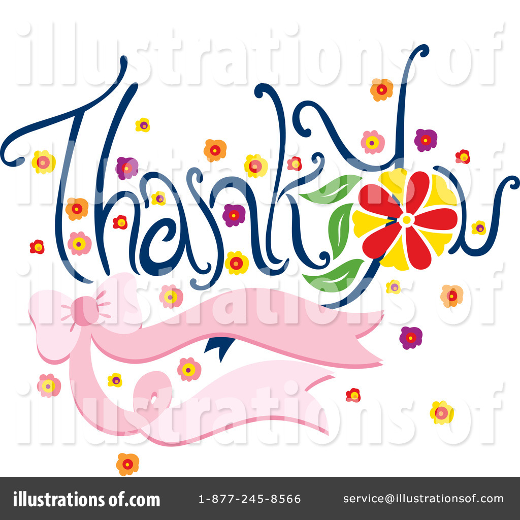 hight resolution of royalty free rf thank you clipart illustration by cherie reve stock sample