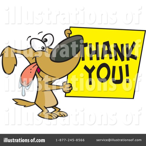 small resolution of royalty free rf thank you clipart illustration 437781 by toonaday