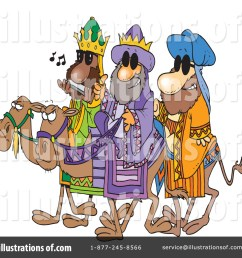 royalty free rf three wise men clipart illustration by toonaday stock sample [ 1024 x 1024 Pixel ]