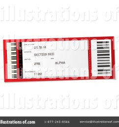 royalty free rf ticket clipart illustration 216742 by michaeltravers [ 1024 x 1024 Pixel ]