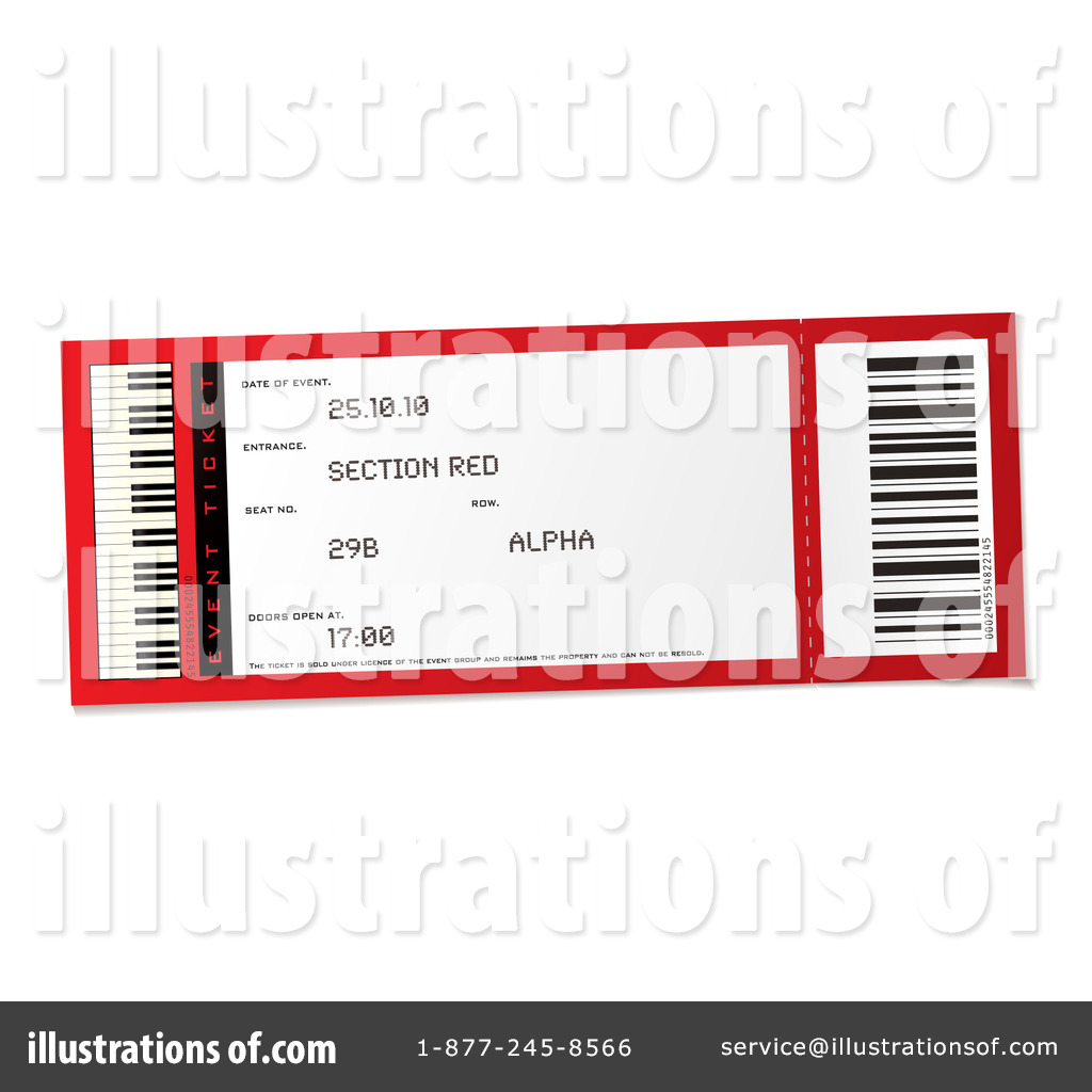 hight resolution of royalty free rf ticket clipart illustration 216742 by michaeltravers