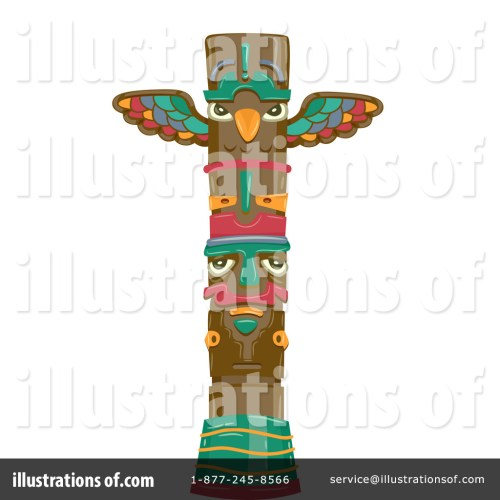 small resolution of royalty free rf totem clipart illustration by bnp design studio stock sample