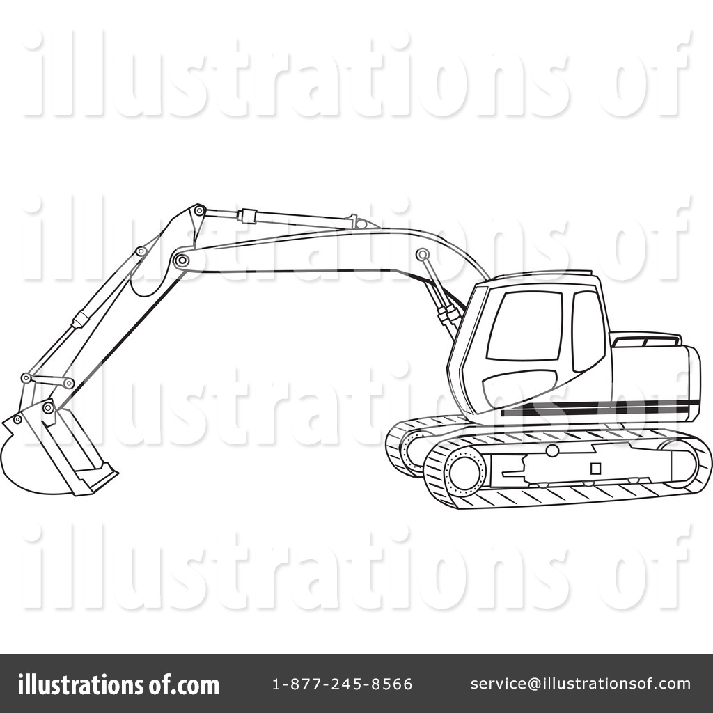 Skid Loader Coloring Sheets Coloring Pages