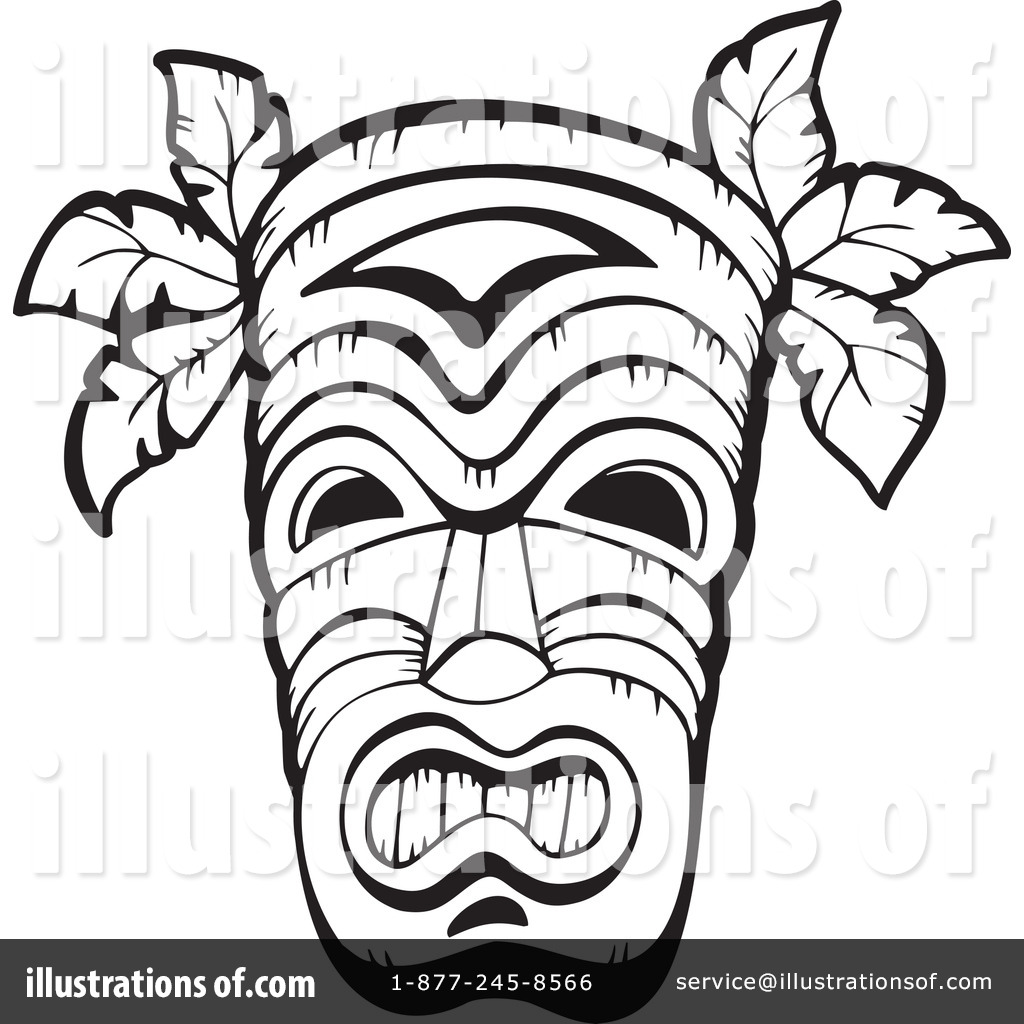 Tribal Mask Clipart