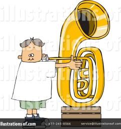 royalty free rf tuba clipart illustration 1263501 by djart [ 1024 x 1024 Pixel ]
