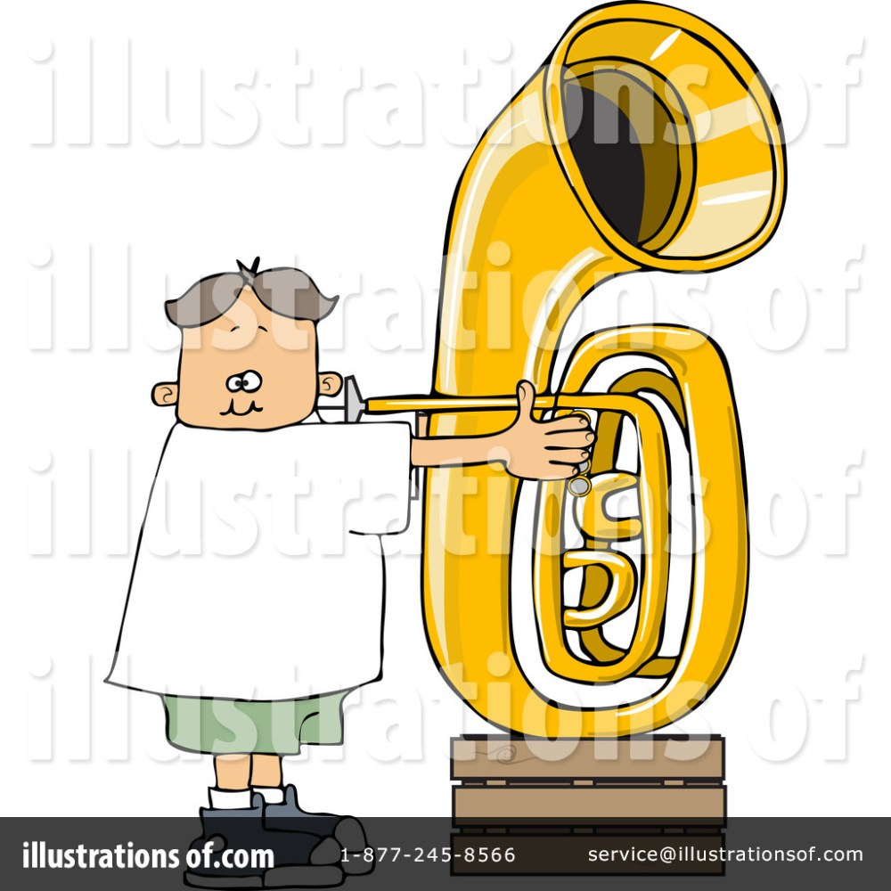 medium resolution of royalty free rf tuba clipart illustration 1263501 by djart