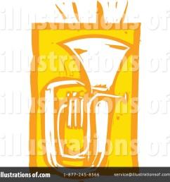 royalty free rf tuba clipart illustration 1057973 by xunantunich [ 1024 x 1024 Pixel ]
