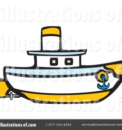 royalty free rf tug boat clipart illustration 435634 by xunantunich [ 1024 x 1024 Pixel ]