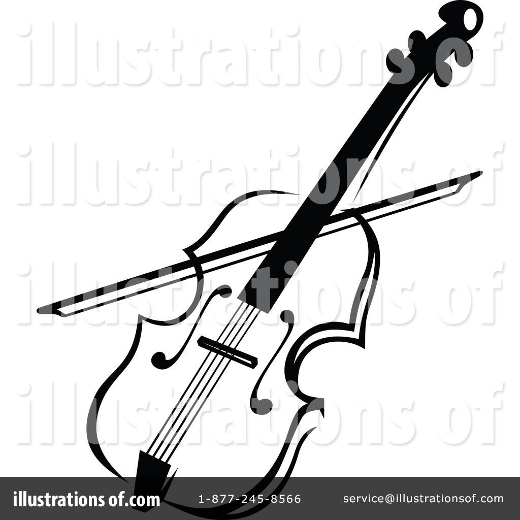 Violin Clipart By Seamartini Graphics