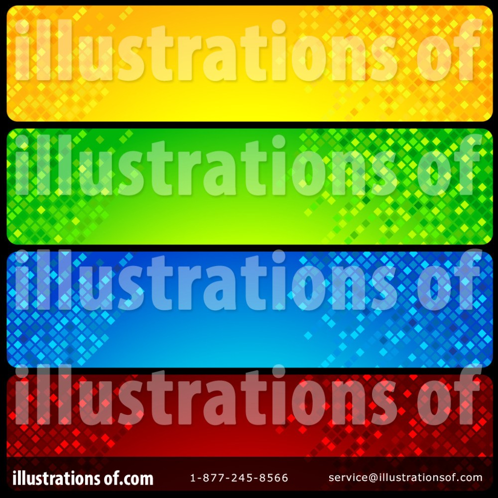 medium resolution of royalty free rf website banners clipart illustration 1119469 by dero