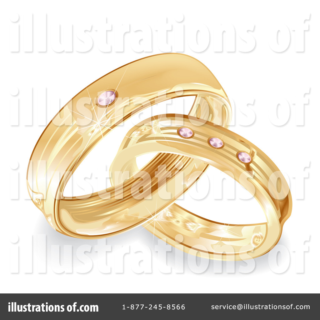 hight resolution of royalty free rf wedding rings clipart illustration 100740 by milsiart