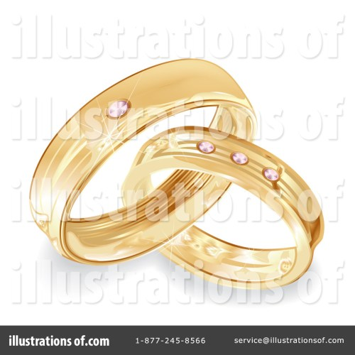 small resolution of royalty free rf wedding rings clipart illustration 100740 by milsiart