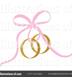 royalty free rf wedding rings clipart illustration by pams clipart stock sample [ 1024 x 1024 Pixel ]