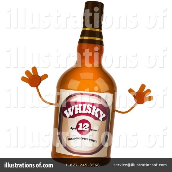Whisky Clipart #1129499 - Illustration Julos