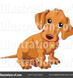 royalty free rf wiener dog clipart illustration 70570 by pushkin [ 1024 x 1024 Pixel ]