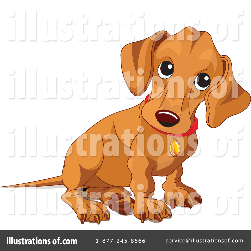 hight resolution of royalty free rf wiener dog clipart illustration 70570 by pushkin