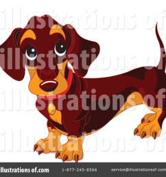 royalty free rf wiener dog clipart illustration 70571 by pushkin [ 1024 x 1024 Pixel ]