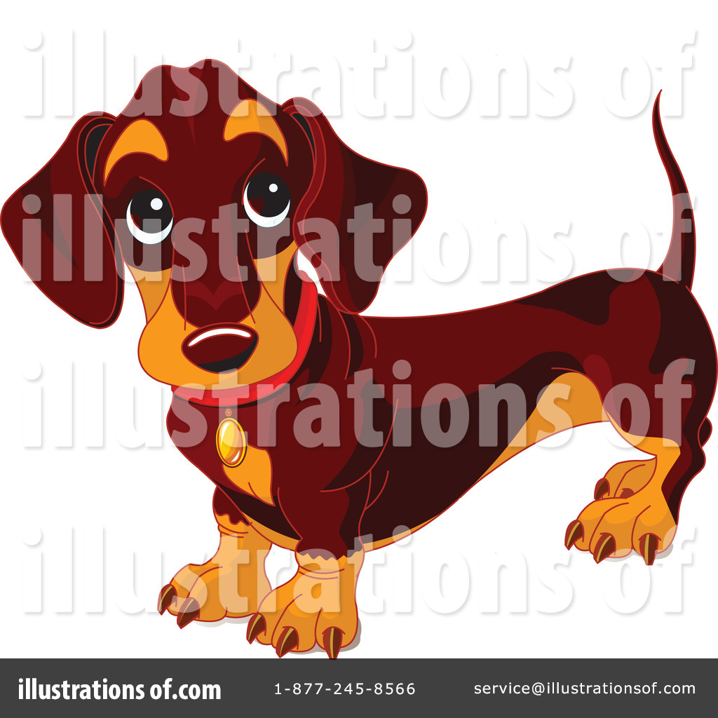 hight resolution of royalty free rf wiener dog clipart illustration 70571 by pushkin
