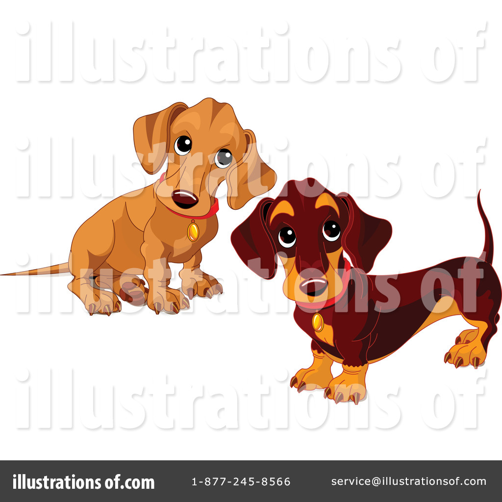 hight resolution of royalty free rf wiener dog clipart illustration 70572 by pushkin