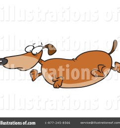 royalty free rf wiener dog clipart illustration 442749 by toonaday [ 1024 x 1024 Pixel ]