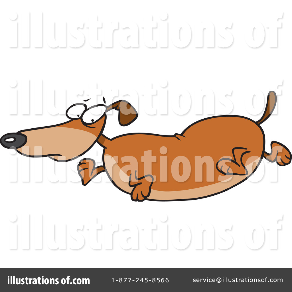 hight resolution of royalty free rf wiener dog clipart illustration 442749 by toonaday