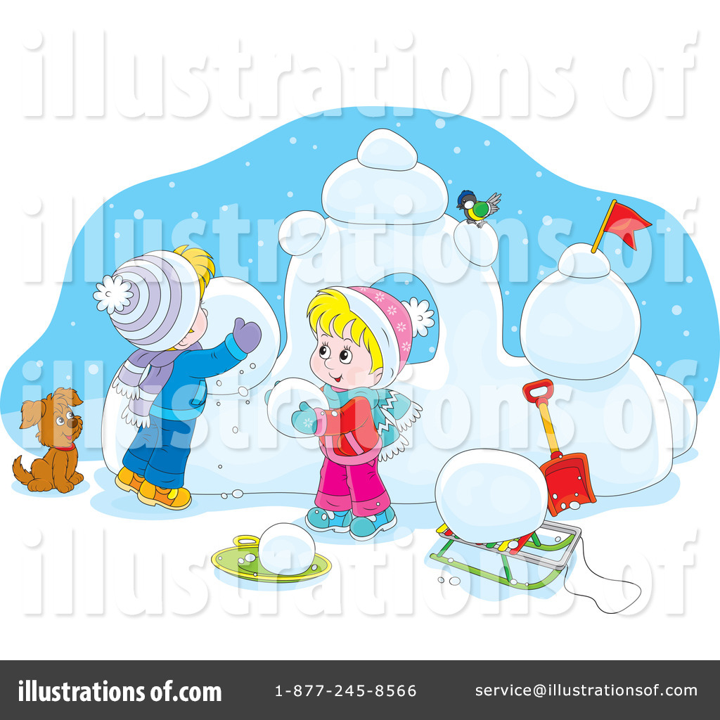 hight resolution of royalty free rf winter clipart illustration 1226378 by alex bannykh