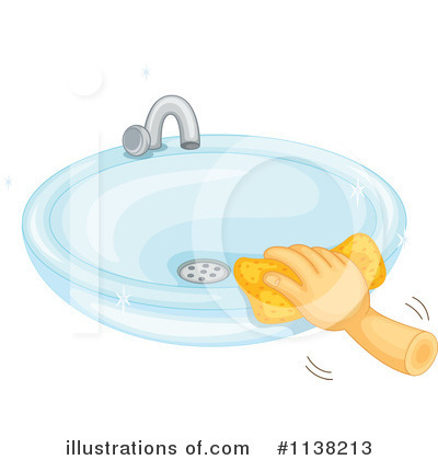 clean bathroom sink clip art Sink Clipart #1138213 - Illustration by Graphics RF