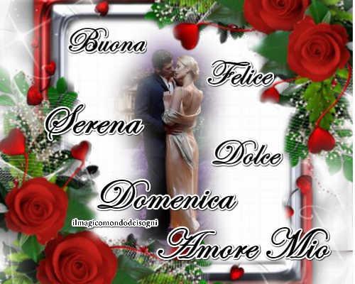 Cartoline Buona Domenica Amore Il Magico Mondo Dei Sogni