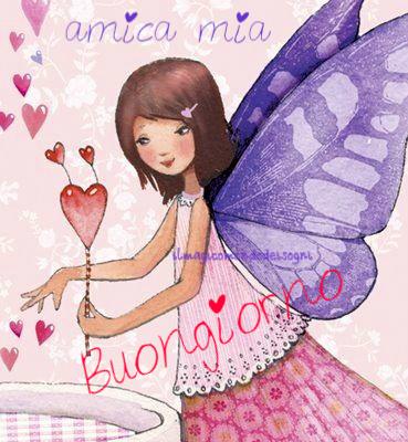 Cartoline Buongiorno Amica Mia Il Magico Mondo Dei Sogni