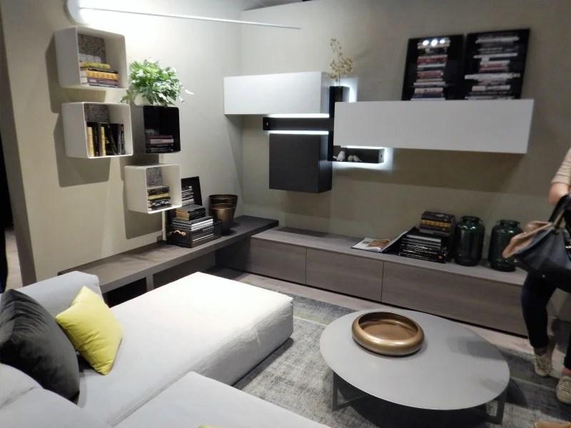 Soggiorno per la tua zona living salotto moderno ad angolo  mobili Parma Piacenza ILMA MOBILI