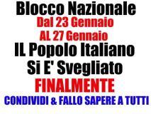 I Forconi invadono tutta l'Italia, il cane che vuole bastonare il padrone.