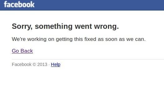 Facebook non funziona (19 giugno)