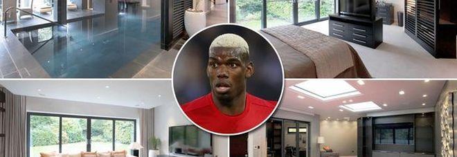Paul Pogba compra super villa da tre milioni di euro con piscina interna e stanza dei giochi