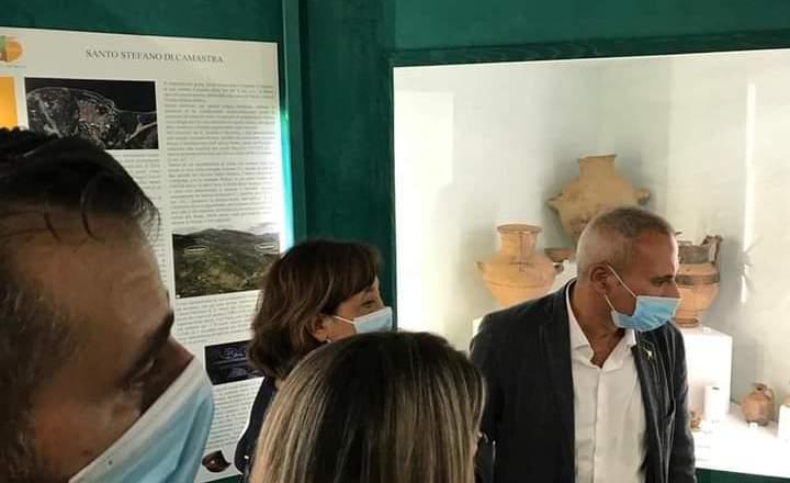 """Inaugurata la mostra """"Archeologia dei Nebrodi"""""""