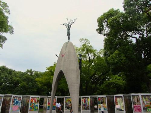 Hiroshima - Children-pace-monument