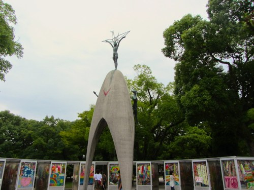 Hiroshima - Children-pace-monument