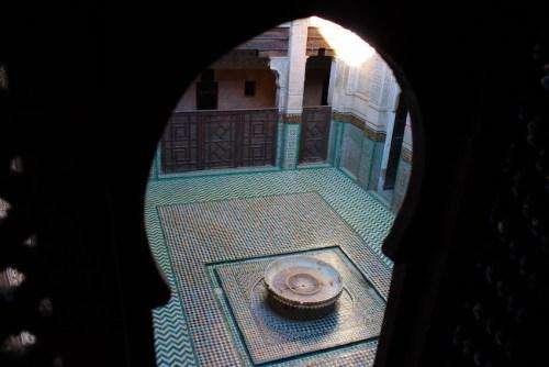 Marrakesh - MedersaBenYoussef