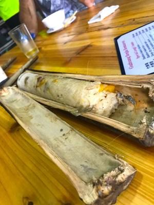 riso in bamboo