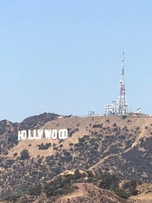Usa Hollywood sign