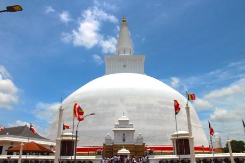 Sri Lanka - Ruwanweliseya Dagoba