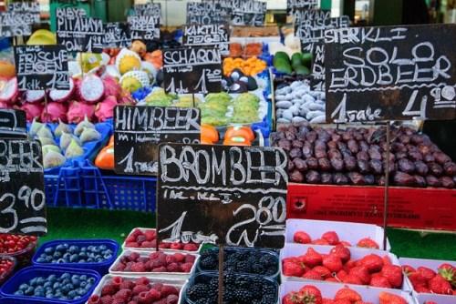 mercato a Vienna