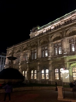 teatro dell'opera a Vienna