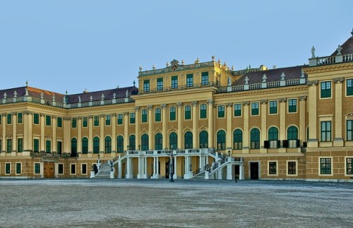 il castello di Sissi a Vienna