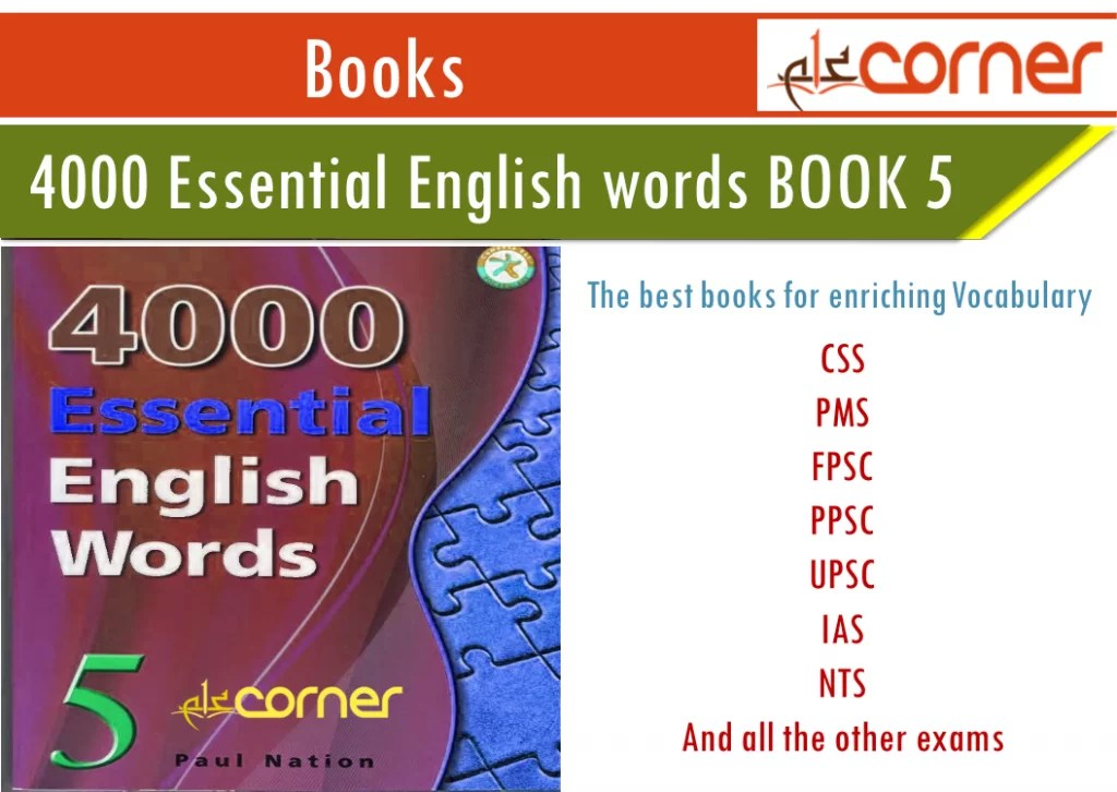 4000 important english words