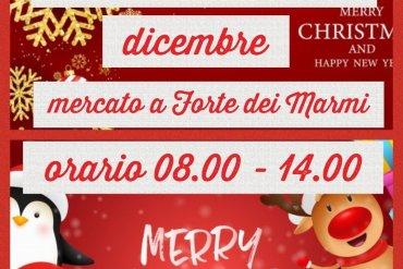Martedì 31 dicembre mercato anticipato a Forte dei Marmi