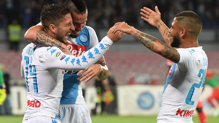 De Laurentiis applaude il Napoli