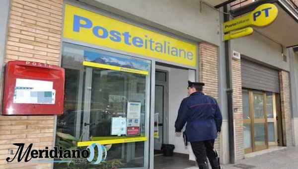 Qualiano: rapina a ufficio postale, carabinieri fermano 3 banditi