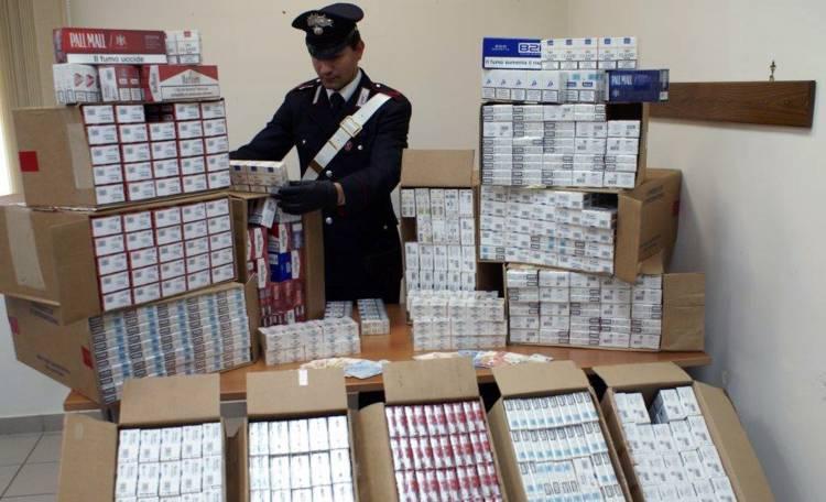 Contrabbando e contraffazione, sequestrate 7 tonnellate di tabacchi: cinque persone nei guai