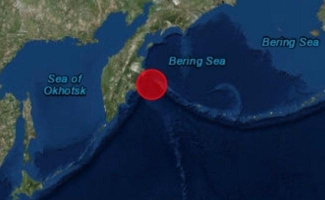 Terremoto Di 7 4 In Russia Nel Mare Di Bering Allerta