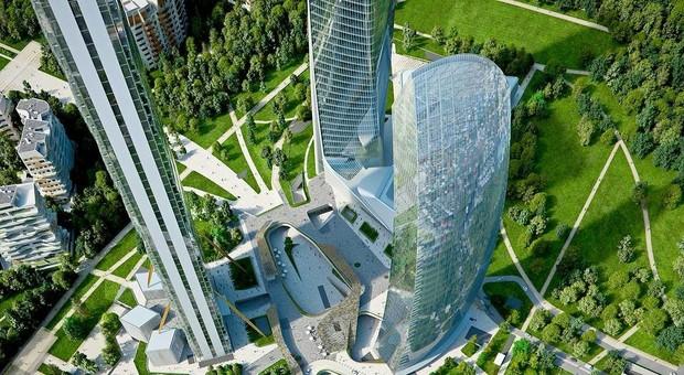 Il grattacielo curvo nuovo skyline per Milano con la Torre Libeskind